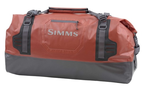 Simms Dry Creek Duffel Large - Bright Orange