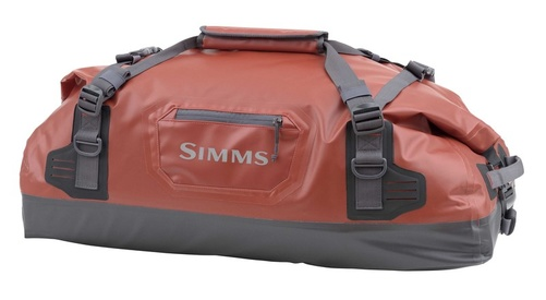 Simms Dry Creek Duffel Medium - Bright Orange