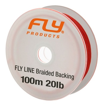 FLY Braided Backing 100m 20lb orange