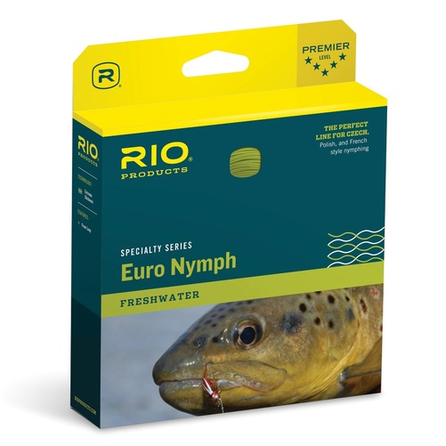 RIO FIPS Euro Nymph Line #2-5 Orange/Sage/Olive