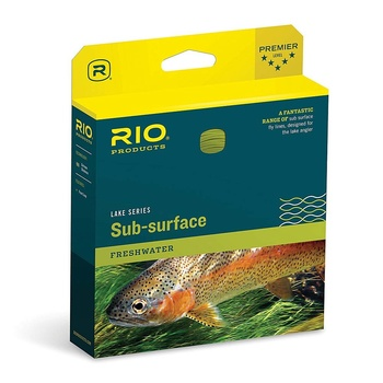 Rio Aqualux Midge Tip WF Float/Intermediate Clear Tip/Yellow