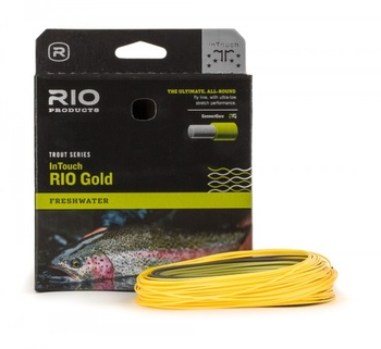 RIO InTouch Gold Flyt Fluglina Moss/Gray/Gold