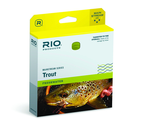 RIO MainStream Trout Flyt Fluglina # 4