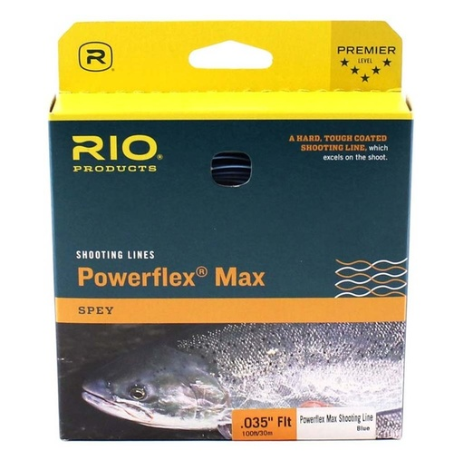 RIO PowerFlex Max Skjutlina - 25lb/0,60mm
