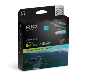 RIO InTouch Outbound Short Flyt/Intermediate  Gray/Ivory/Green