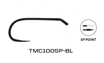 Tiemco 100SP BL Barbless 20-pack