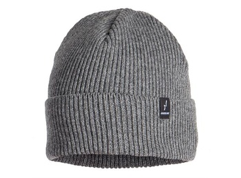 Guideline Label Beanie Charcoal