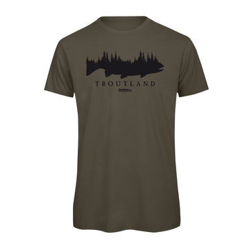Fishline Troutland Men's 100% Organic Cotton t-shirt