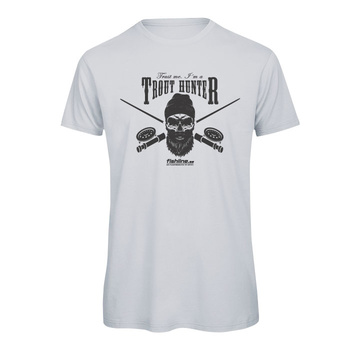 Fishline Trouthunter Men's 100% Organic Cotton t-shirt Light Grey