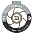 Hardy Copoly Tafsmaterial på 50m Spole - 7X - 0,10mm