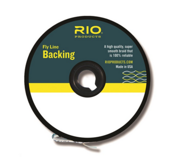 RIO Color Change GSP Backing 50lb 100yds Red/Yel