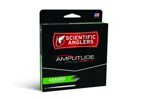 SA Amplitude Anadro Turtlegrass/Optic Green/Willow WF Fluglina - # 7