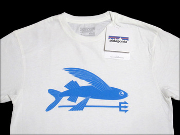 Patagonia Men's Flying Fish T-Shirt White