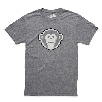 Howler El Mono Dark Grey Heather T-Shirt