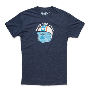 Howler Stunt Monkey Midnight Navy T-Shirt