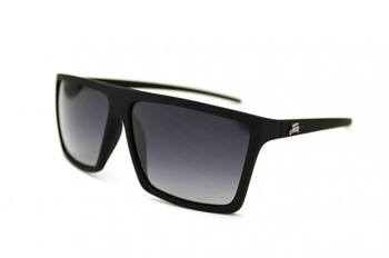 Fortis Square Top Polarised Sunglasses Black