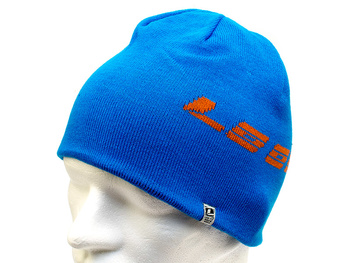 Loop Reversible Beanie - Blue/Orange