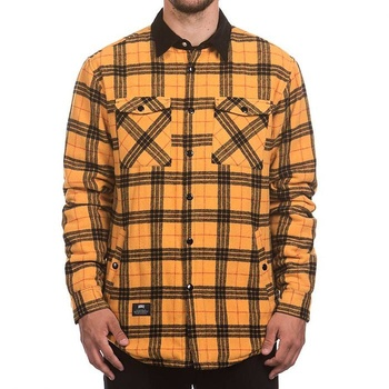 Hooke Plaid Insulated Jacket Mustard & Black