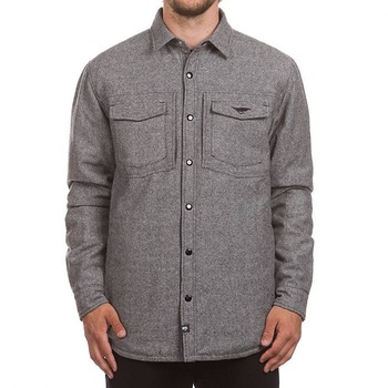 Hooke Tweed Insulated Jacket Heather Grey