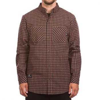Hooke Adventure Shirt Forest Geen & Red