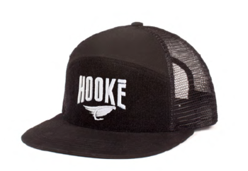 Hooke Original Trucker Hat Black
