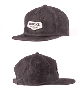 Hooke Patch Strap Back Washed Black