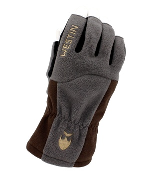 Westin W4 ThermoGrip Half-Finger Glove Steel Grey