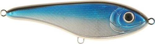 Buster Jerk 15cm Shallow Blue/Chrome