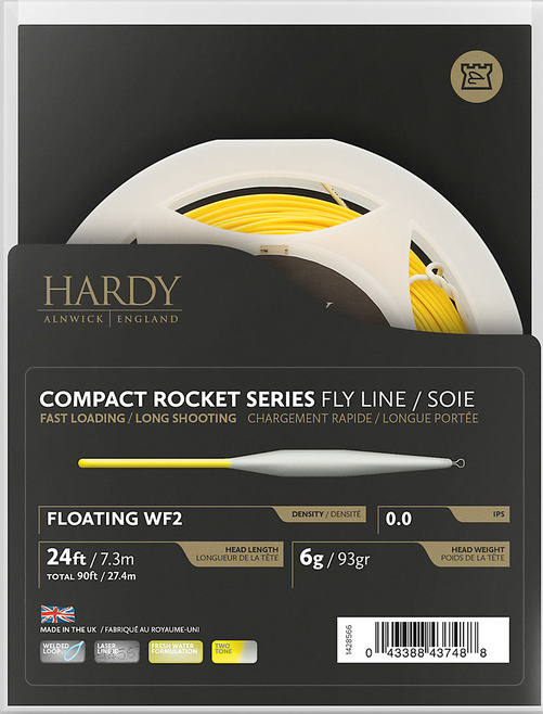 Hardy Compact Rocket series Twin Float WF # 2