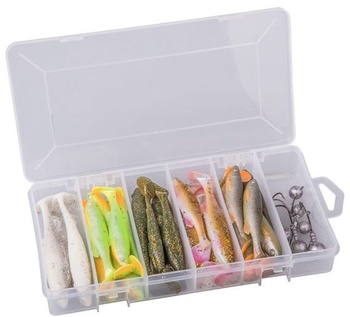 Savage Gear Fat Minnow T-Tail Kit 30+6pcs