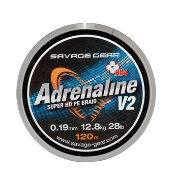 Savage Gear HD4 Adrenaline V2 120m Grey Flätlina