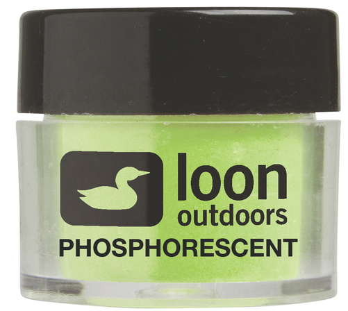 Loon Fly Tying Powders - Phosphorescent