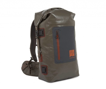 Fishpond Wind River Roll-Top Backpack- Gravel