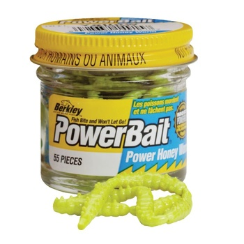 Berkley Powerbait Honey Worms Garlic