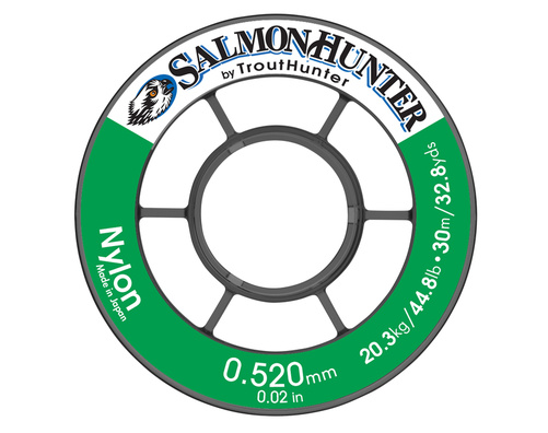 Trout Hunter SalmonHunter Nylon Tafsmaterial - 0,285 mm