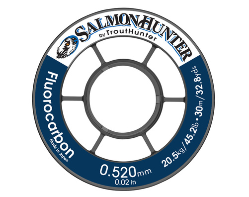 Trout Hunter SalmonHunter Fluorocarbon Tafsmaterial - 0,370 mm