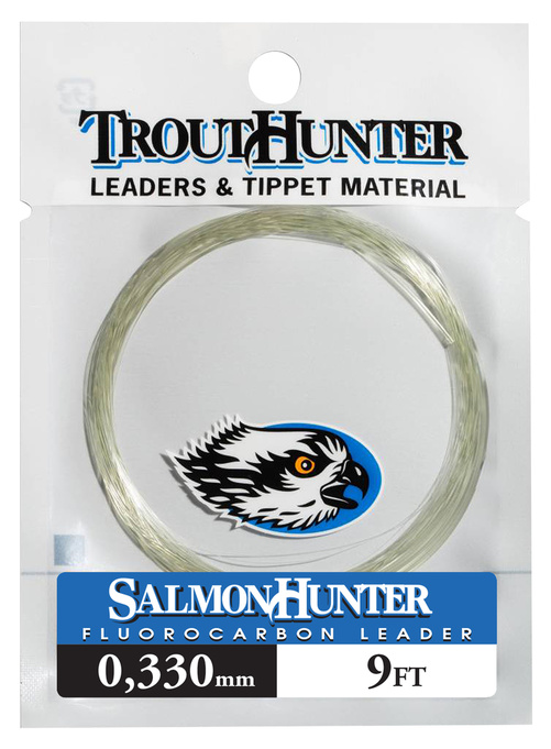 Trout Hunter SalmonHunter Fluorocarbon Taperad Tafs 9ft - 0,370 mm