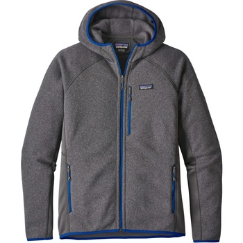 Patagonia Men's Performance Better Sweater™ Fleece Hoody Forge Grey