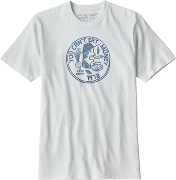 Patagonia Men's Can't Eat Money Responsibili-Tee® White