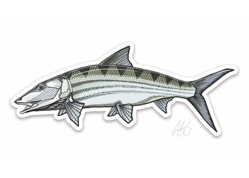 Bonefish Sticker - Casey Underwood