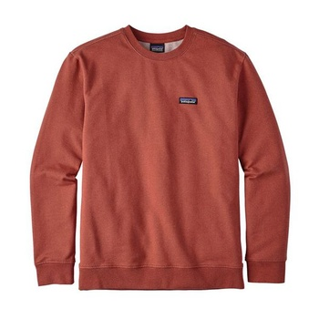 Patagonia Men's P-6 Label Midweight Crew Sweatshirt Roots Red
