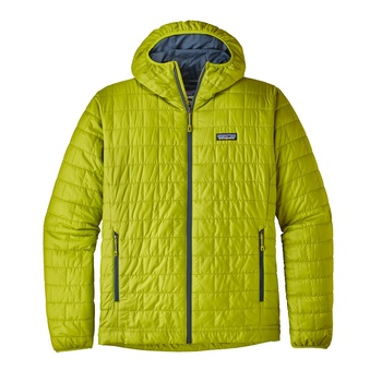 Patagonia M's Nano Puff Hoody Light Gecko Green