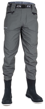 Guideline Diver Sonic Waist Wader W/Boots