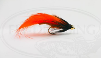 Zonker Orange Streamer size 8