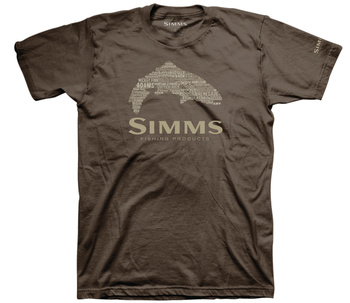 Simms Stacked Typo Logo Brown