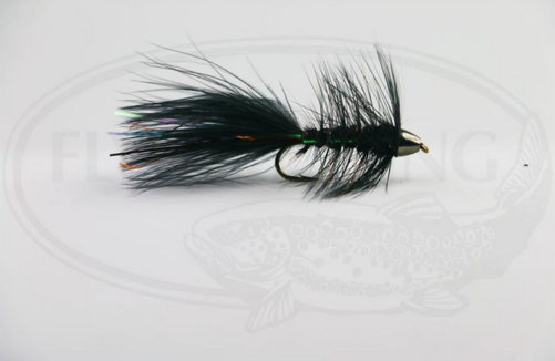 Wolly Bugger Cone Svart size 8