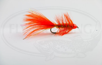 Wolly Bugger Cone Orange size 8