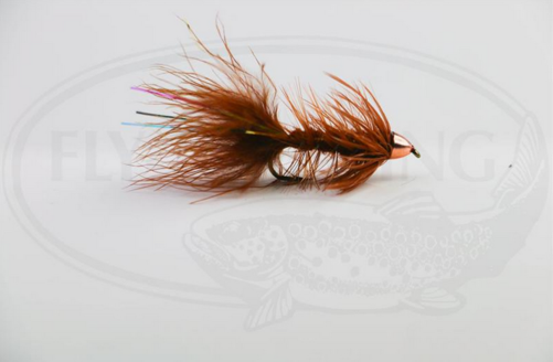 Wolly Bugger Cone Brun size 8