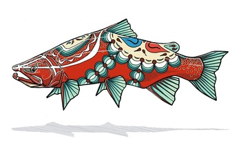 Dala Trout Prints - Casey Underwood