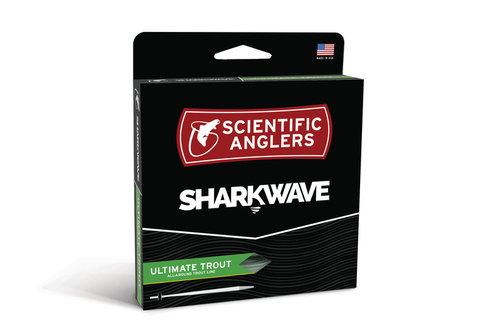 SA SharkWave Ultimate Trout WF Fly Fluglina - # 3